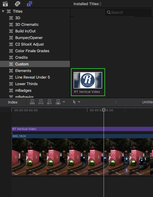 FREE FCPX Plugin: Vertical Video by Ripple Training | Cavus